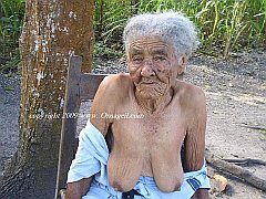 Real wrinkled grannies and matures