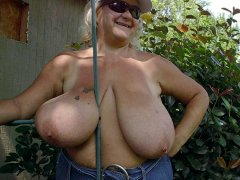 Mature womans with big and small tits hardcore