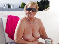 Sexy old naked nudist grannies
