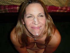HOT!! Mature woman they like sperm on the face