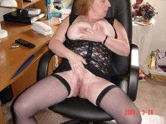 A large collection of photo of old horny grannies!