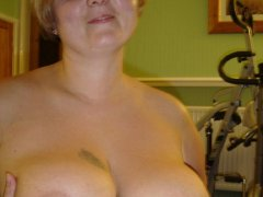 Chubby and skinny Mature and granny with big boobs