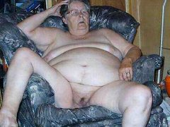 Old chubby grannies showing her naked body hc
