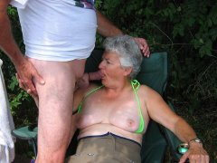 ILoveGranny.com Old chubby grannies are very wet