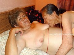 The oldest lesbian grannies having fun hardcore