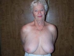 Sexy Crazy grannies with big sagging tits hard