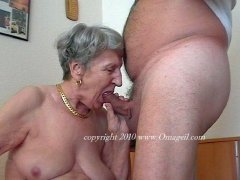 Very old amateur grannies getting wild hardcore