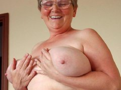Old hairy amateur grannies with big boobs hardcore