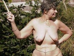 Old ladies fucking and showing her naked body