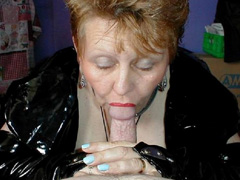 mature sucking cock