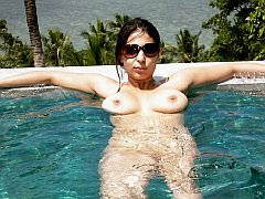 Outdoor mature and adult flashing picture content