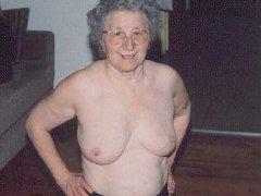 Chubby granny masturbating her pussy with dildo