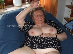 Very oldest woman flashing their saggy tits amazin