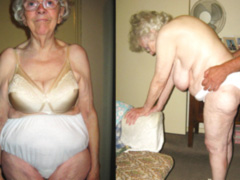Old naked grannies