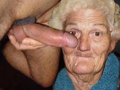 Horny old grannies suck dick and masturbate pussy