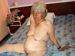 Ugly big ass from very old latina grandma hardcore