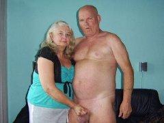 Homemade granny porn with big boobs fucked hard