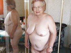 Horny bbw naked Grannies with natural big boobs