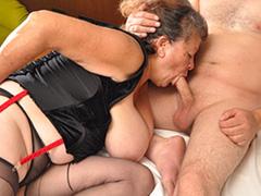 Latina granny 71yo sucking boy cock free video