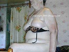 Chubby granny and senior photos