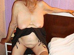 Wrinkled exotic granny latina sex