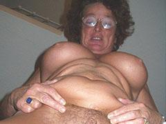 Old mature granny hairy cunt closeups