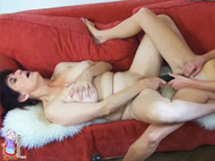 Old and young lesbian toys masturbation