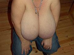 Plenty of older women with big breasts