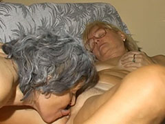 Old granny pussy licking old granny