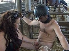 Best scenes of mistresses playing with their slaves
