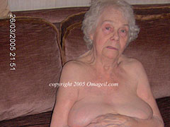The hottest old grandmas in sexy underwear