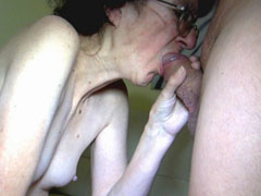 Older women getting wild in threesomes