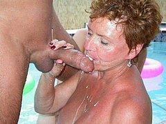 Watch Very perverted grannies geting naked