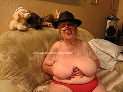 Old skinny grandmas up to 90 years of age