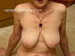 Saggy tits of chubby grannies 65+ years old