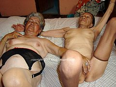 Chubby grannies still want to have some fun