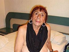 Old oma exotic latina granny body showoff