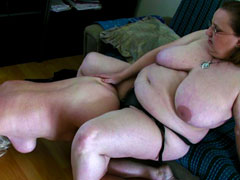 Horny grandmas perving around hot and naked