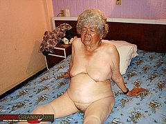 Ugly Ass from very old granny nude pics