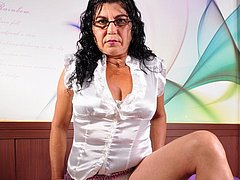 Mature granny pictures of old naked latina