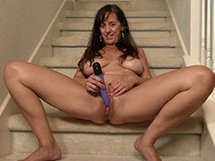 European mature lady pictured enjoying