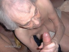 Lovely wrinkled grannies sucking cocks