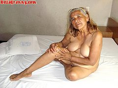 Old wrinkled hot mom sucking dick hard