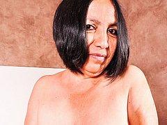 Hot mature latinas sex toys masturbation