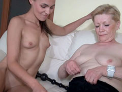 Naughty older women that love it rough