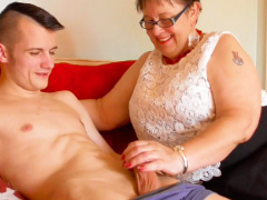 Handy man fucking fat busty mature lady
