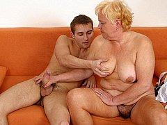 Horny Granny Masturbating granny pussy