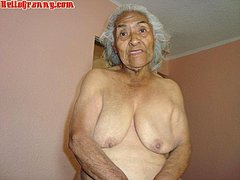 Old granny has saggy tits suck dick hard