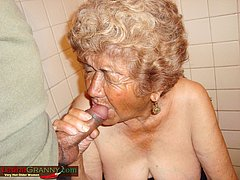 Old dick fucks hard old grannys mouth